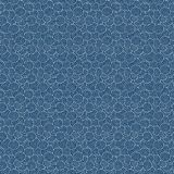 Blue wavy background. Abstract waves background for sea themes Stock Photo
