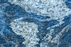 Blue Wavy Granite Pattern Royalty Free Stock Photography