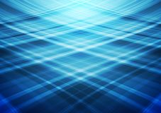Blue wavy lines abstract background Royalty Free Stock Photo