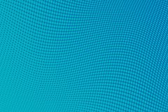 Blue Wavy pattern Halftone background. Comic dotted backdrop with circles, dots, rounds royalty free illustration