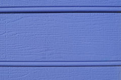 Blue weatherboard texture Royalty Free Stock Images