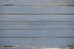 Blue weathered wooden wall texture Royalty Free Stock Image