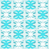 Blue weave. Blue abstract weave design on square background Royalty Free Stock Image