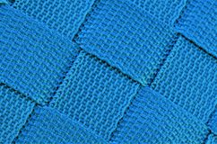 Blue weave background, squares.