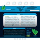 Blue web Stock Photo