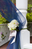 Blue Wedding Decor Royalty Free Stock Image