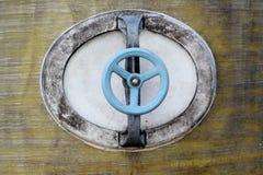 Blue wheel Stock Image