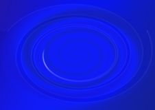 Blue whirlpool Stock Image