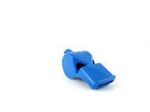 Blue whistle Stock Photography