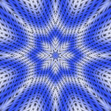 Blue and white abstract. Stock Photography