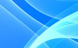 Blue & White Abstract background Stock Photography