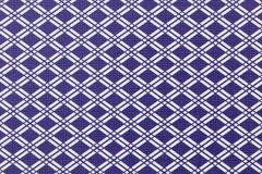 Blue and white abstract chequered background Stock Photos