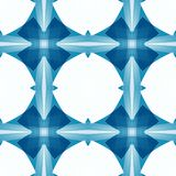 Blue white abstract texture. Simple background illustration. Textile print pattern. Seamless tile. Home decor fabric design sample. Blue white abstract texture Royalty Free Stock Photography