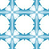Blue white abstract texture. Simple background illustration. Textile print pattern. Gentle seamless tile. Home decor fabric design. Blue white abstract texture Royalty Free Stock Photo