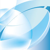 Blue-white absttract background. Blue-white colored abstract background with glow Royalty Free Stock Photos