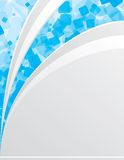Blue_and_white_background Stock Photo