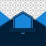 Blue and White Background stock illustration