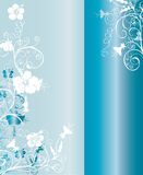 Blue and White Background Pattern Stock Image