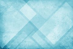 Blue and white background with textured geometric triangle and diamond pattern with faint paint splashes spatter and drips and gru Stock Photo
