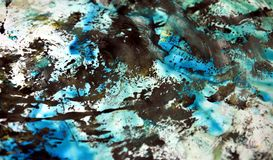 Blue white black soft background, hues, watercolor paint background. Blue white black background, in blue green phosphorescent rainbow white hues, blurred vivid vector illustration