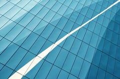 Blue and White Building Glass Window during Daytime Stock Images