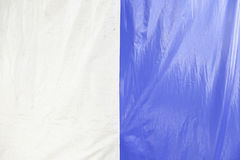 Blue and white canvas Royalty Free Stock Photography