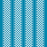 Blue and white checkered abstract background Stock Photo