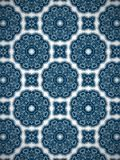 Blue and white circle pattern multi purpose pattern background Royalty Free Stock Images
