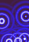 Blue and white  Circles Royalty Free Stock Photography