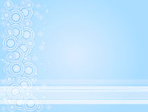 Blue White Circles Royalty Free Stock Images
