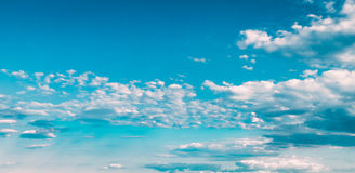 Blue And White Colours Sky Abstract Background Royalty Free Stock Photos