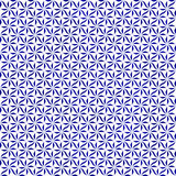 Blue and White Decorative Swirl Design Textured Fabric Backgroun Stock Photography