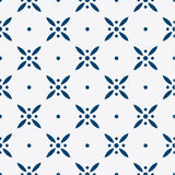 Blue and white delft pattern Royalty Free Stock Photo