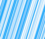 Blue and white diagonal stripes Stock Image