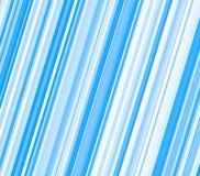 Blue and white diagonal stripes Stock Image