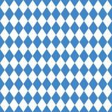 Blue Oktoberfest Diamond Seamless Pattern vector illustration