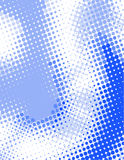 Blue/white dot matrix Royalty Free Stock Photography