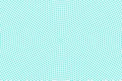 Blue white dotted halftone. Half tone background. Detailed dotted pattern. Cold palette futuristic texture. Mint blue ink dot on transparent backdrop. Pop art vector illustration