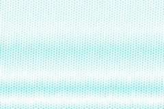 Blue white dotted halftone. Half tone background. Pale dotted gradient. Cold palette futuristic texture. Mint blue ink dot on transparent backdrop. Pop art royalty free illustration