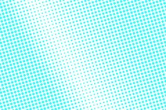 Blue white dotted halftone. Halftone background. Centered radial dotted gradient. Royalty Free Illustration