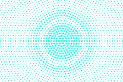 Blue white dotted halftone. Halftone background. Grungy radial dotted gradient. Stock Illustration