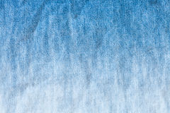 Blue and white dyeing of denim jean Royalty Free Stock Images