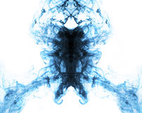 Blue on white energy abstract flame background royalty free stock photo