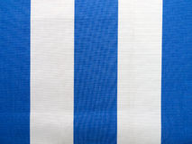 Blue and white fabric Royalty Free Stock Image