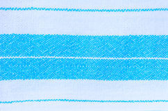 Blue and white fabric textile texture Stock Photos
