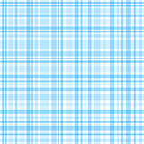 Blue and white gingham seamless pattern Stock Photography
