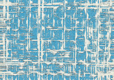 Blue and White Grunge Geometric Background Royalty Free Stock Images