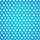 Vintage polka grunge dots seamless pattern Royalty Free Stock Photography