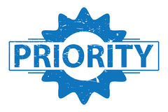 Priority sign Royalty Free Stock Photo