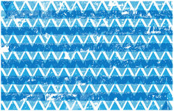 Blue and white grunge triangles background Royalty Free Stock Photography